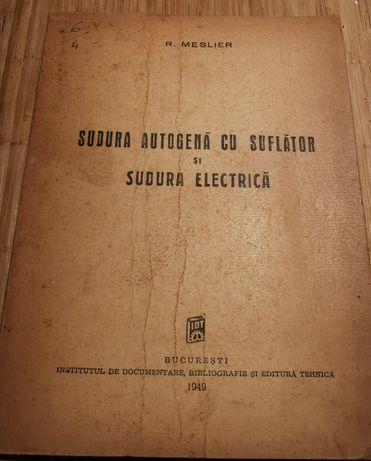 Sudura autogen cu suflator și sudura electrica