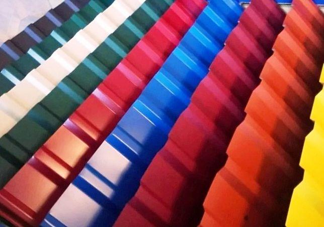 Профлист с полимерным покрытием