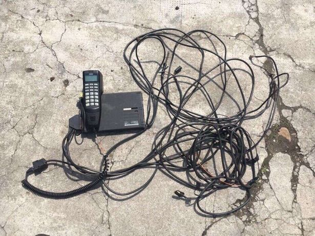 Telefon + modul original audi