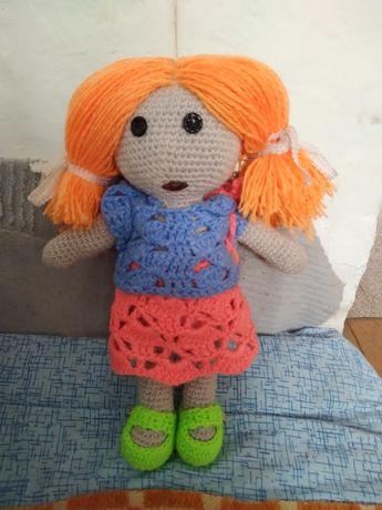 Кукла вязаная,ручная работа