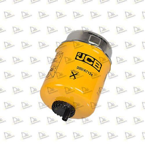 Filtru original de combustibil JCB 3CX, 4CX Iasi - imagine 1