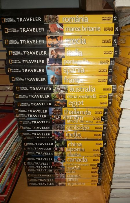 Vand Colectia National Geographic Traveler, 26 volume Bucuresti - imagine 1
