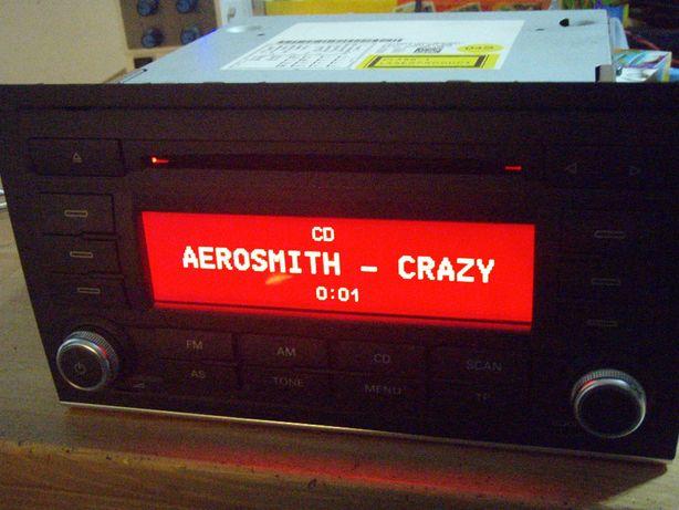 Radio CD MP3 Seat 411 Concert 2+ EU BVX, detin codul pentru deblocare