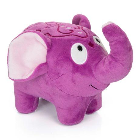 Jucarie de plus Elefantelul Violet, inaltime 21 cm