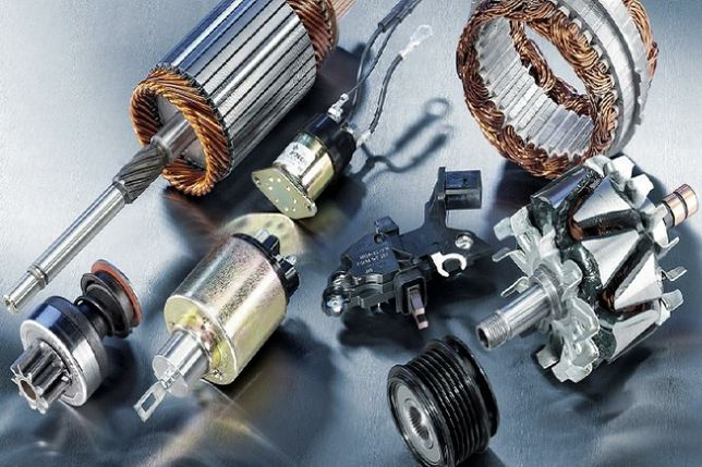 Профессиональный ремонт генераторов и стартеров автотранспорта .