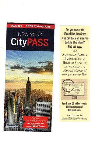 Книга и брушури от New York