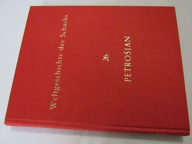 ISTORIA Sahului vol. 26 T. PETROSIAN, Editia germana 1963, raritate