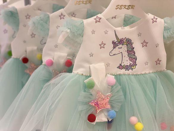 Детски рокли Rainbow Dash и Unicorn