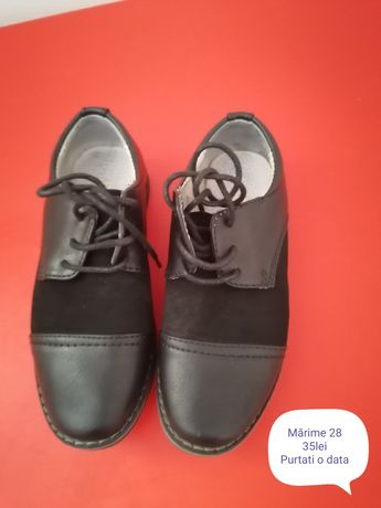 Pantofi copii purtați o data