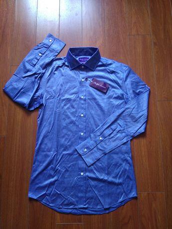 Cămașă Ralph Lauren Purple Label gama lux Italy mărimea M