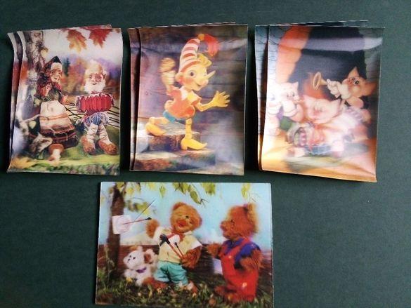 За колекционери! Редки и запазени руски календарчета и картички!