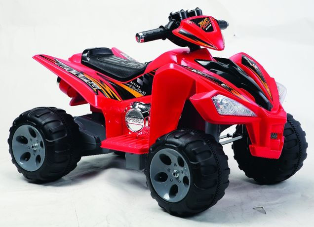 ATV electric pentru copii BJ007 90W 12V STANDARD #Rosu