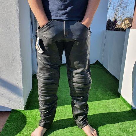 Pantaloni piele pt motociclisti