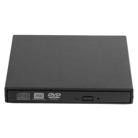 Внешний DVD-RW для ноутбука, черный (USB)
