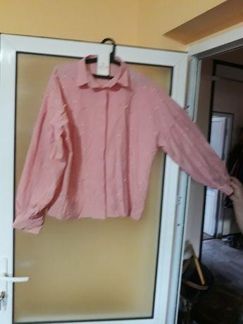 Vând cămașă roz, marimea 42, noua.