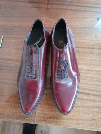 Мъжки официални обувки-естествена кожа-италянски