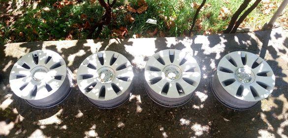 4 БРОЯ Оригинални алуминиеви джанти от AUDI A6 4F,A4 B7 16 5х112 ET35