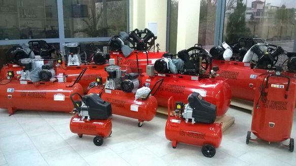Компресор за въздух от 24, 50, 100, 200, 300 до 500 литра 18333