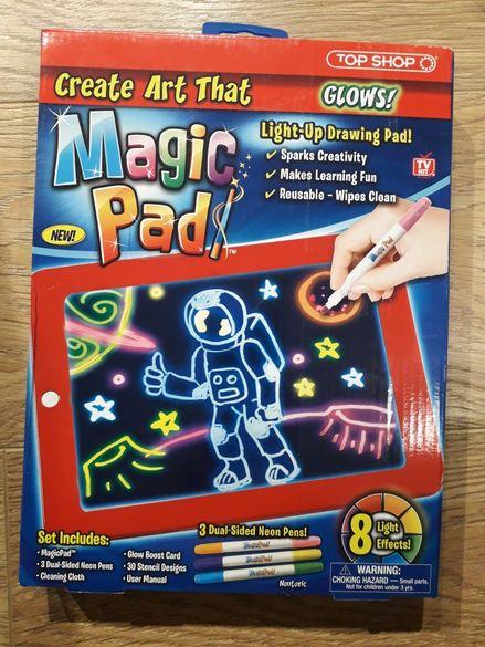 Магична светеща дъска за рисуване Magic pad