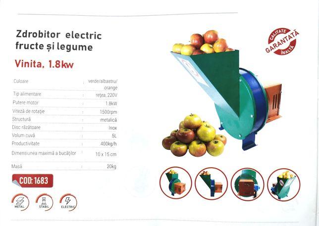 Razatoare - Tocatoare electrica fructe si legume, RUS, 200Kg/Ora