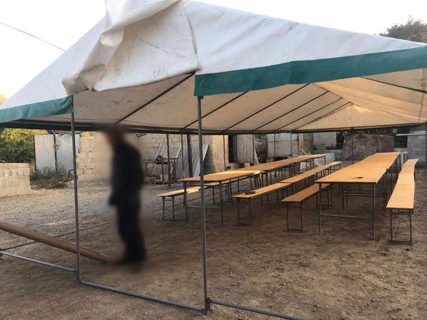 Палатка 12.5 метров на 5 метров. Продажа.