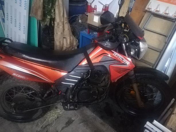 Мотоцикл forester L 200