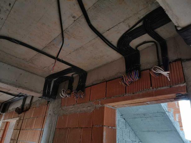 Firma instalatii electrice interioare si exterioare