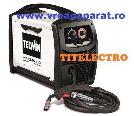 Maxima 160 Synergic - Aparat de sudura MIG cu sarma cu/fara gaz TELWIN