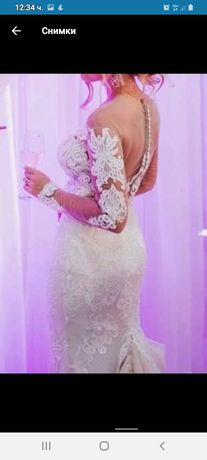 Сватбена италианска рокля