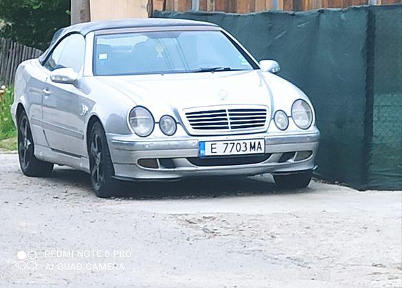 Mercedes CLK Kabrio