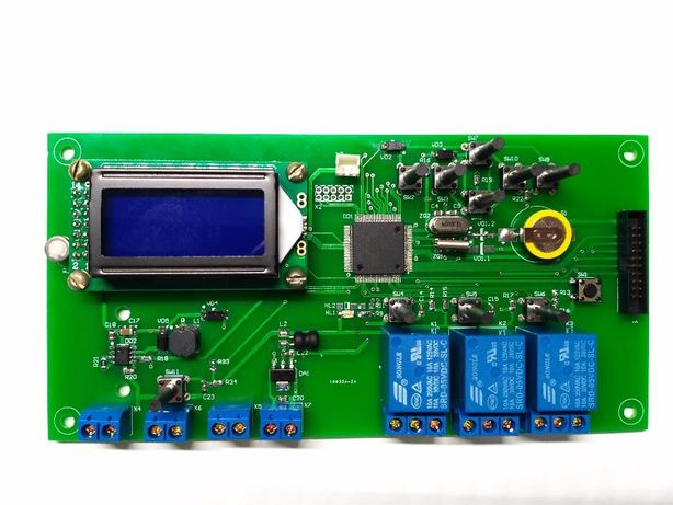Контроллер для освещения и управления