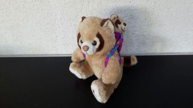 Jucarie - plus - urs - ursoaica - ursulet- mama si puiul - 26 cm