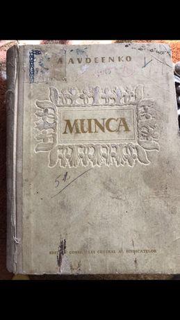 "Carte veche ""Munca"""