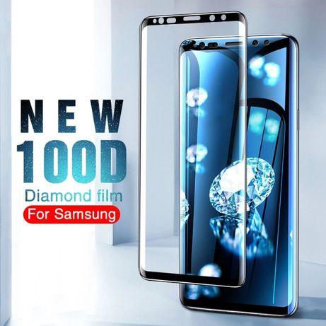 Folie sticla curbata 100D FULL Glue pt Samsung Galaxy S8 / S8 plus