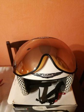 Casca de Ski italiana HMR H2 cu Vizor