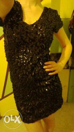 дамска рокля с пайети