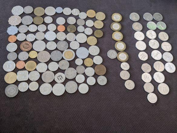 Монети Кариби, Бахами, UAE Арабски и др.109бр. United Arab Emirates