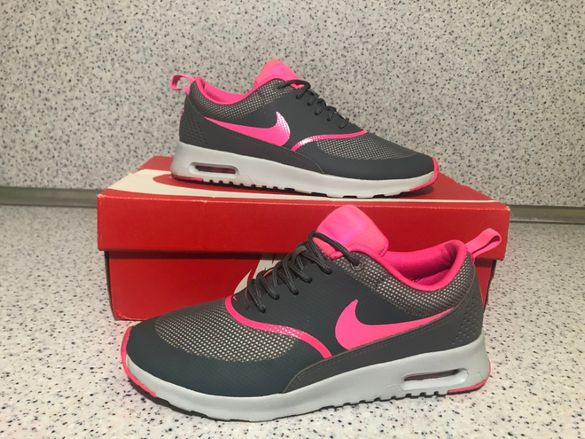 ОРИГИНАЛНИ *** Nike Air Max Thea Grey / Pink / White