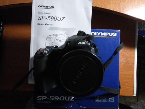 camera foto olympus sp-590uz zoom optic x26 12MPx semiprofesionala