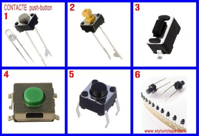 Contacte tactile si LED-uri pentru clape