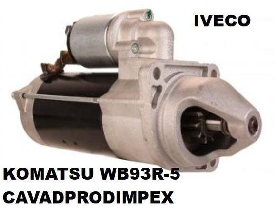 Electromotor buldoexcavator Komatsu WB 93 R5 Iveco