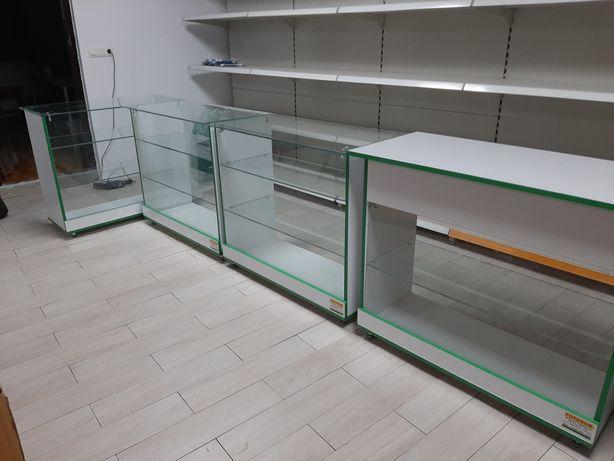 mobilier raft pentru magazin pal sticla tejghea comert rafturi comert