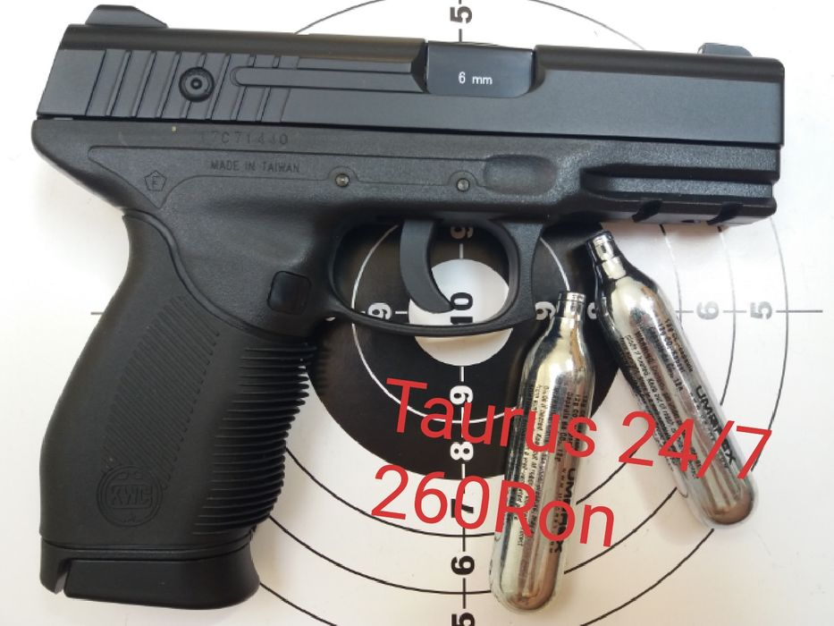 REDUCERE Pistol airsoft full metal pe co2 putere mare 6mm Nu WALTHER