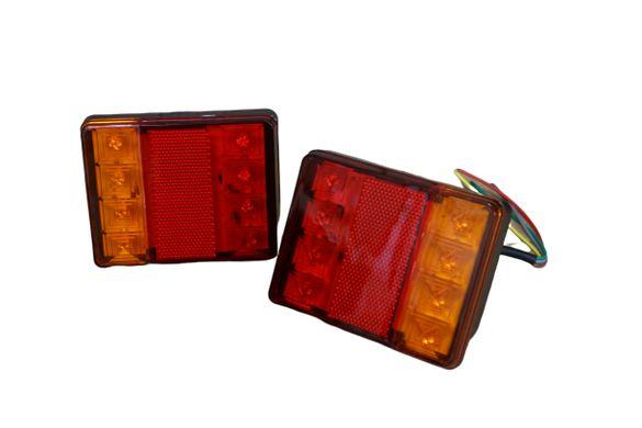 Комплект Диодни LED стопове за бус , камион , ремарке и др.