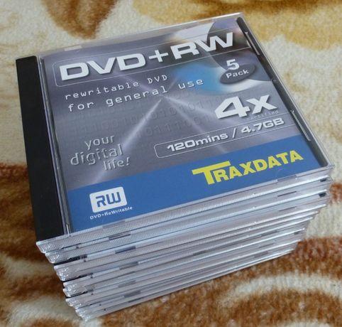 DVD rewritable Traxdata DVD+RW 4X 4,7GB
