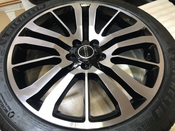 Jante Originale Range Rover Sport Autobyografi cu anvelope Michelin