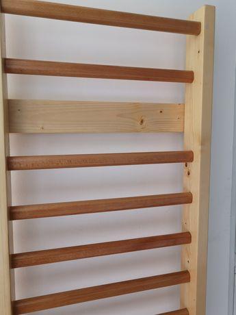 Spalier gimnastica 200/70 cm, 12 trepte, lacuit