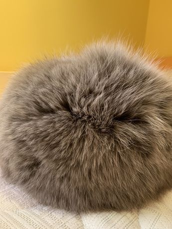 Шапка естествен косъм