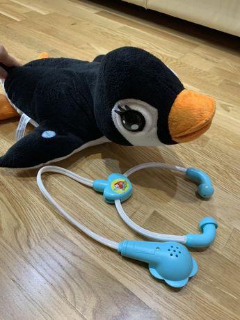 Jucarie din plus penguin cu sunet