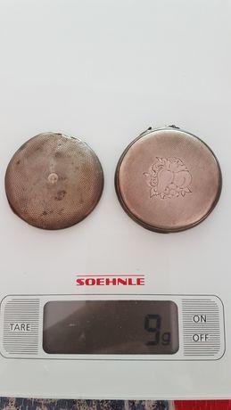 Capace ceas de buzunar Argint